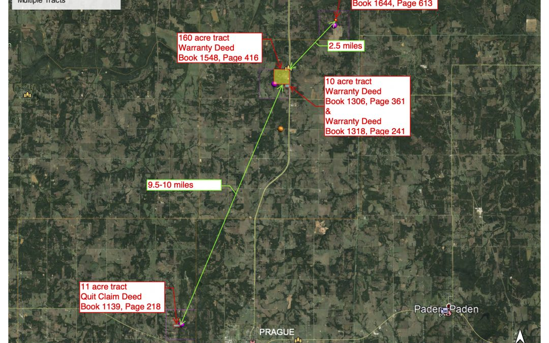 Lincoln County, Oklahoma Land For Sale